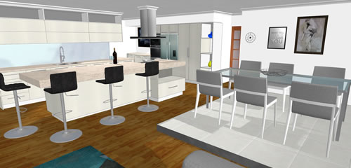 3d Kitchen V11 Front